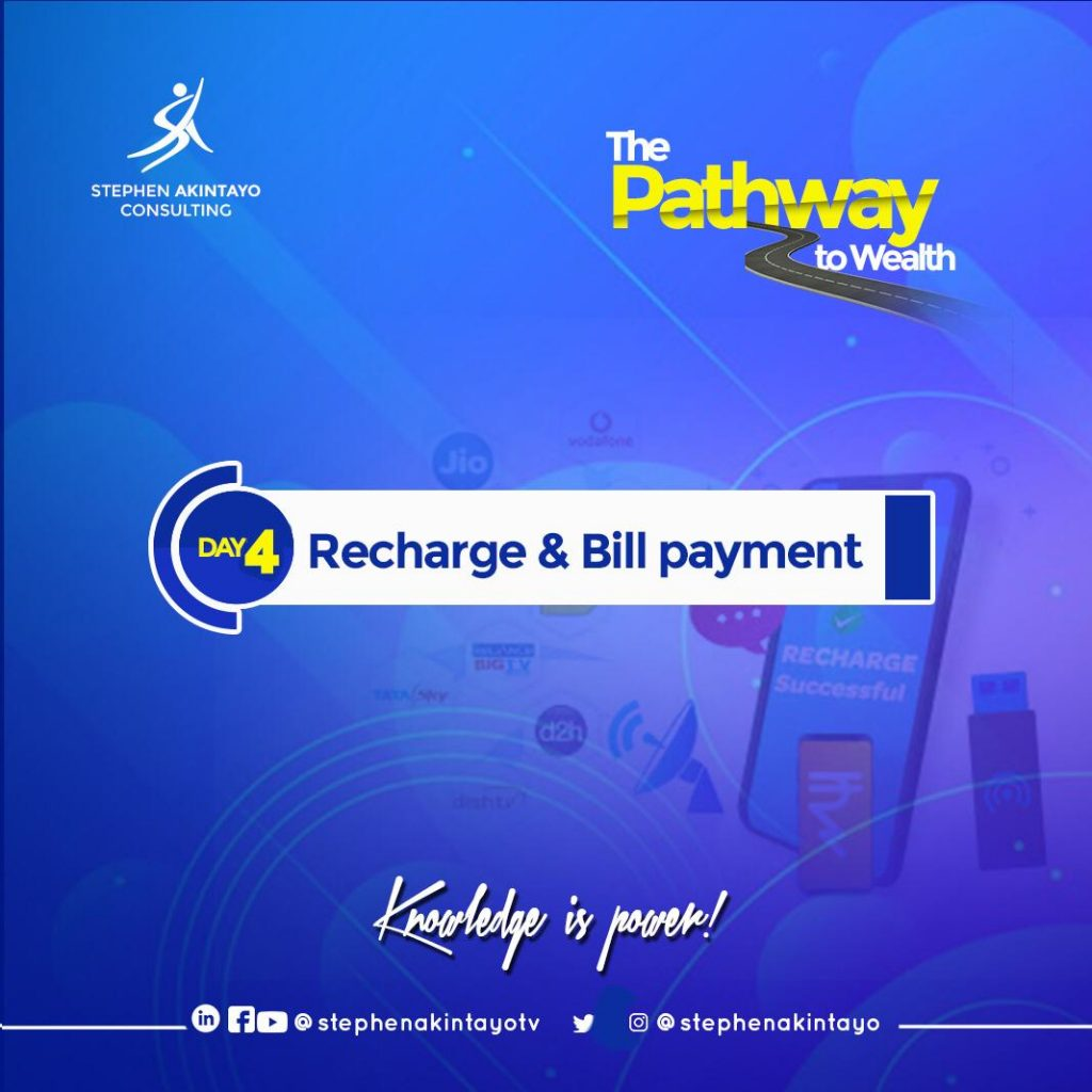 Recharge and Bill Payment