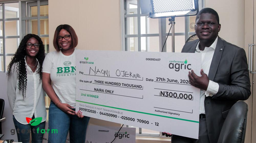 2nd Winner for Conference Agric