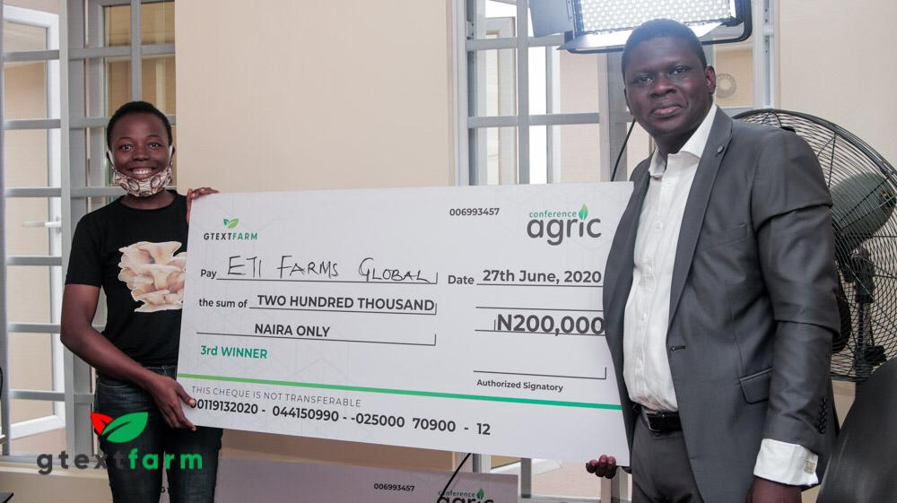 3rd Winner for Conference Agric